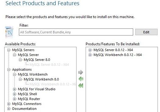 MySQL Setup MySQL Server MySQL Workbench