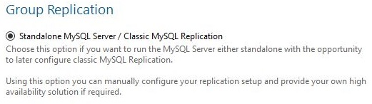 MySQL Setup