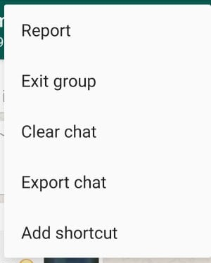 WhatsAppClear Chat