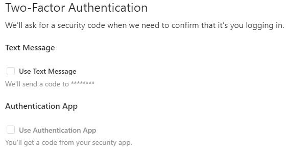 Instagram Text Message Authentication App