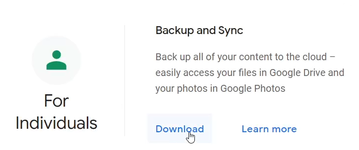 Google DriveBackup and Sync