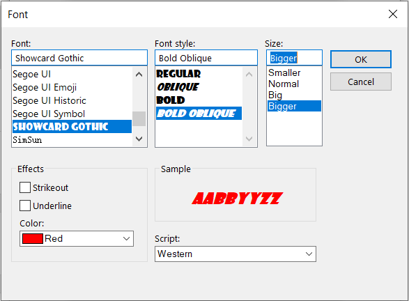 Outlook Conditional Format Font