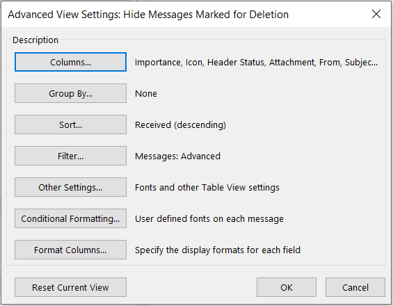 Outlook Conditional format change Message Colors