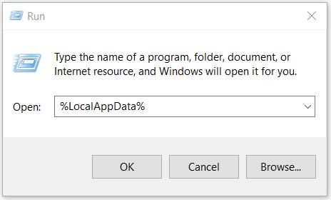 Chrome White PageApplication Data